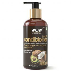 WOW Coconut & Avocado Oil No Parabens Sulphate Free Conditioner - 300 ml