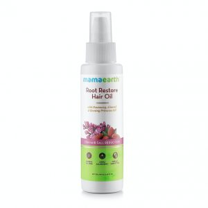 Mamaearth Root Restore Oil for Hair Fall Reduction - 100 ml